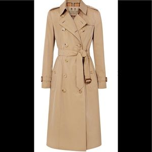 Burberry Chelsea Long cotton Trench Coat